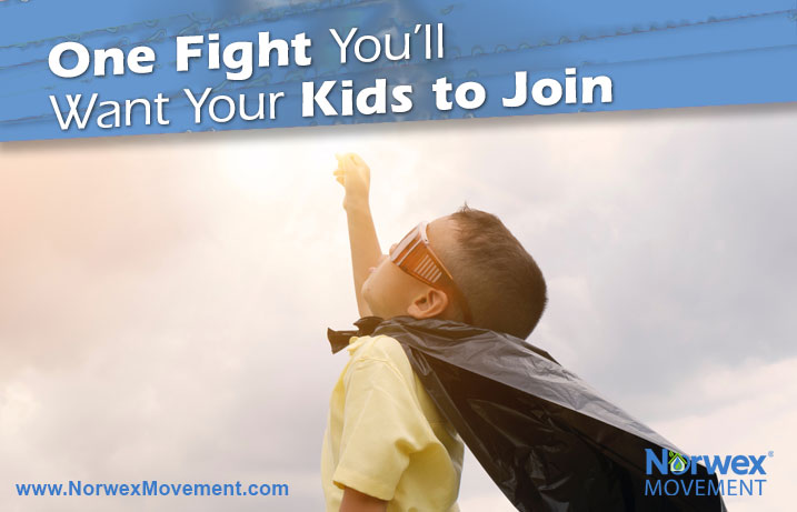 One Fight You'll Want Your Kids to Join